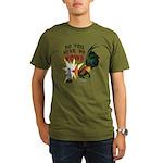Hear Me Now Organic Men's T-Shirt (dark)