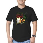 Hear Me Now Men's Fitted T-Shirt (dark)