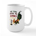 Hear Me Now Large Mug