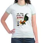 Hear Me Now Jr. Ringer T-Shirt
