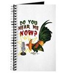 Hear Me Now Journal