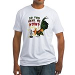 Hear Me Now Fitted T-Shirt