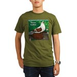 Silesian Swallow Organic Men's T-Shirt (dark)