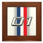Cars 2001 Framed Tile