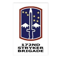 172nd Stryker Brigade<BR> Postcards (Package of 8)