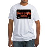 Getting Older Fitted T-Shirt