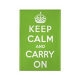 Keep calm carry on Magnets