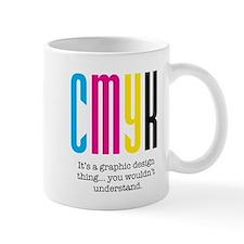 cmyk design thing Mug