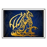 Gold Dragon Banner