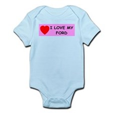 I Love My Ford Infant Creeper