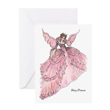 Cute Ballgown Greeting Card