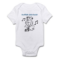 Scottish Girls Rock Infant Bodysuit