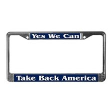 Take Back America - License Plate Frame