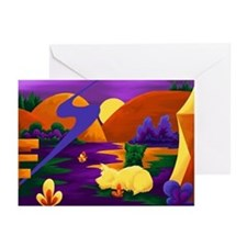 Cairn Terrier Expressionist Greeting Cards (Packag