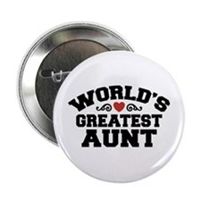 "World's Greatest Aunt 2.25"" Button"