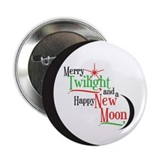 "Twilight New Moon Phase 2.25"" Button (10 pack)"