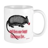 Red Nosed Armadillo Coffee Mug