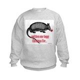 Red Nosed Armadillo Sweatshirt