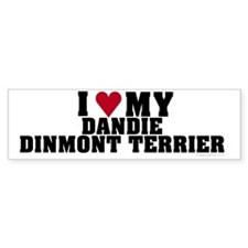 I Love My Dandie Dinmont Terrier