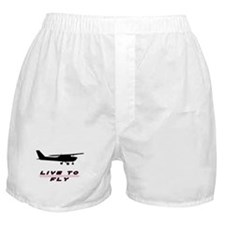 """Live to Fly"" Boxer Shorts"