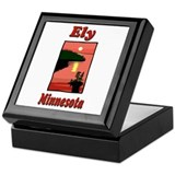 Ely Minnesota Keepsake Box