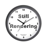 Still Rendering Wall Clock