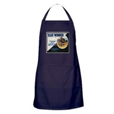 Vintage Fruit & Vegetable Lab Apron (dark)