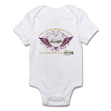 Makes Her Arms Strong Infant Bodysuit