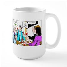 A Toast To Mary Large Mug