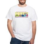 Millennium Status Quo White T-Shirt