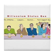 Millennium Status Quo Tile Coaster