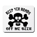 BEER PIRATE Mousepad