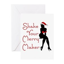 Shake Your Merry Maker Greeting Cards (Pk of 20)