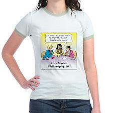 Lunchroom Philosophy Jr. Ringer T-Shirt