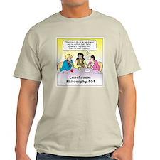 Lunchroom Philosophy Light T-Shirt