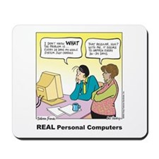 REAL Personal Computers Mousepad