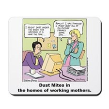 Dust Mites Mousepad