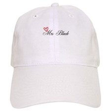 Mrs Black Baseball Cap