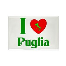 I Love Puglia Rectangle Magnet