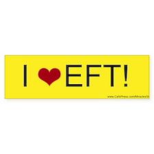 I Love EFT Bumper Sticer (10 pk)