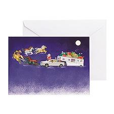 SantaRig_FA2 Greeting Cards