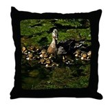 Baby Ducks 2 Throw Pillow