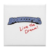 Bookkeeping - LTD Tile Coaster