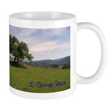 I Choose Peace Coffee Mug