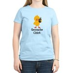 Geocache Chick Women's Light T-Shirt
