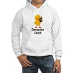Geocache Chick Hooded Sweatshirt