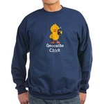 Geocache Chick Sweatshirt (dark)