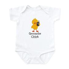 Geocache Chick Infant Bodysuit