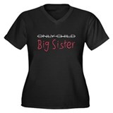 Only Child/Big Sister Dark Sh Women's Plus Size V-