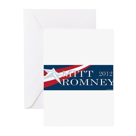 Mitt Romney 2012 Greeting Cards (Pk of 20)